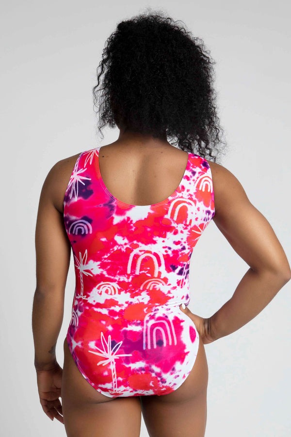 Personalised Ride The Wave Leotard