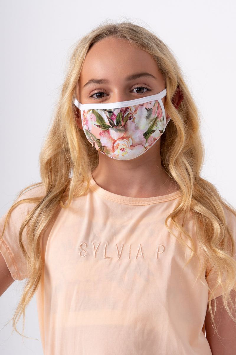 Desert Flower Face Mask