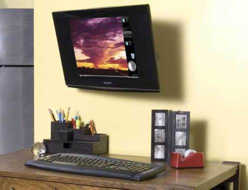 Sanus Systems Small Full Motion LCD Wall Mount