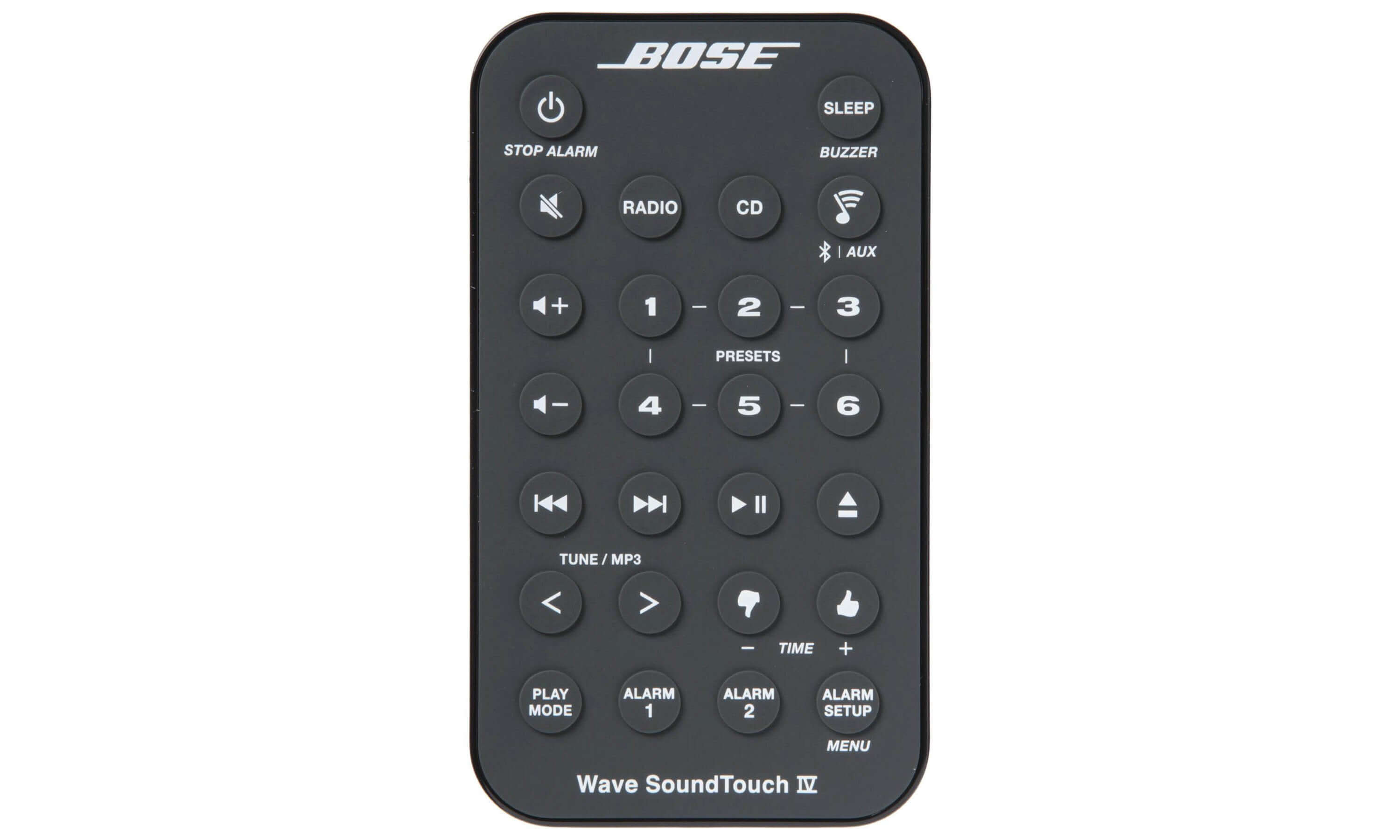 Bose Wave® SoundTouch® music system IV remote control - Black