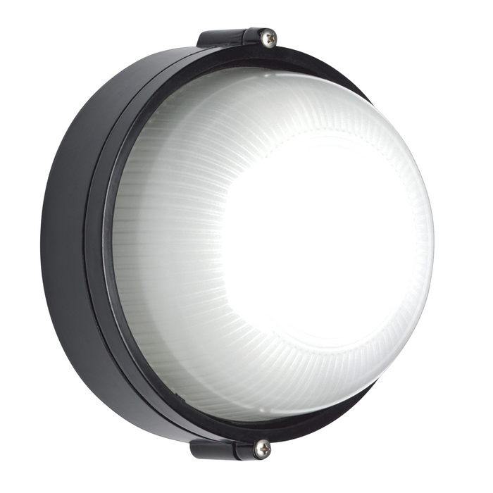 Carlton - Small Round Bunker Wall Light