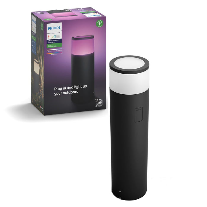 Philips Hue White And Colour Ambiance Calla Bollard Extension Unit