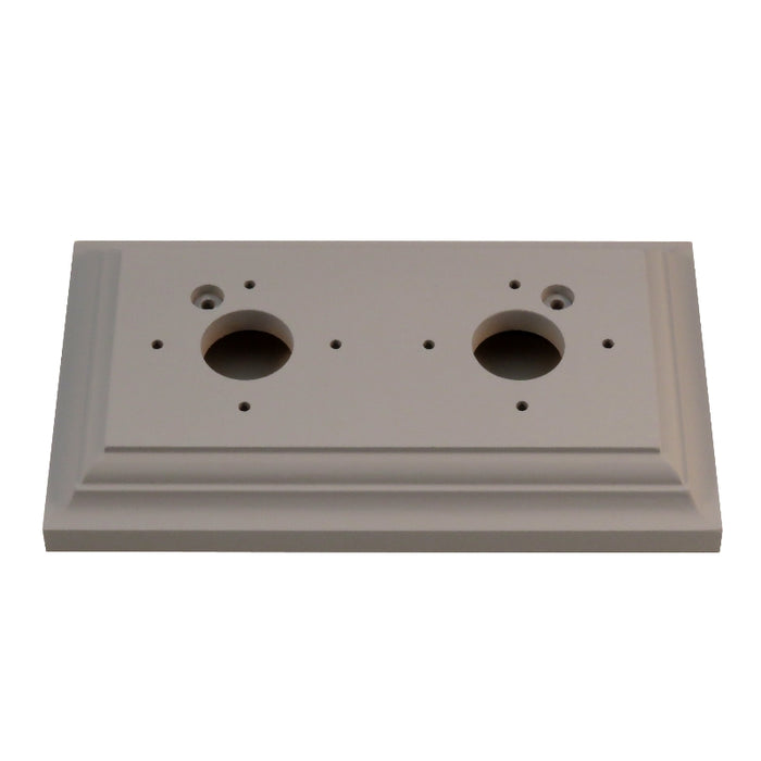 Classic Series Oblong Mounting Block For 2 Switches