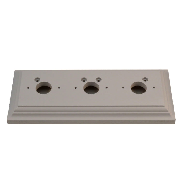 Classic Series Oblong Mounting Block For 3 Switches