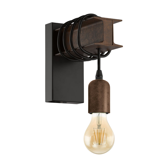Townshend 4 - Industrial Wrap Around Wall Light