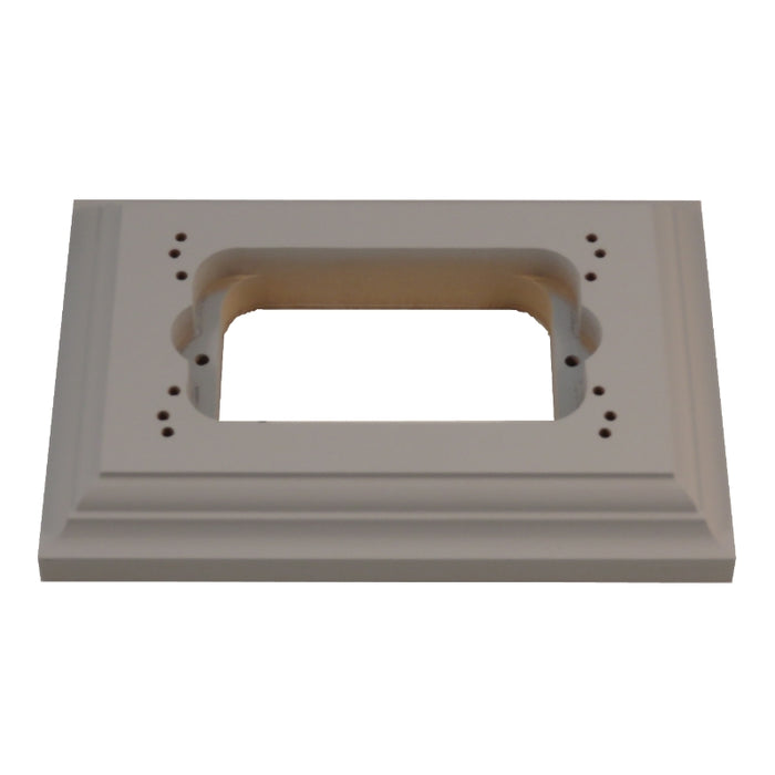 Classic Series Oblong Mounting Block With Mounting Centre