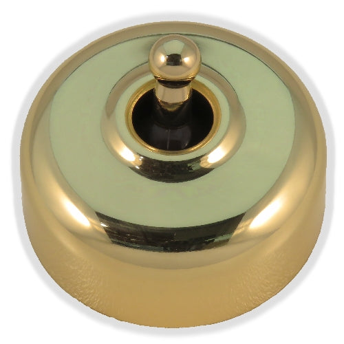 Classic 55 Series 10a Toggle Switch With Smooth Deep Covers