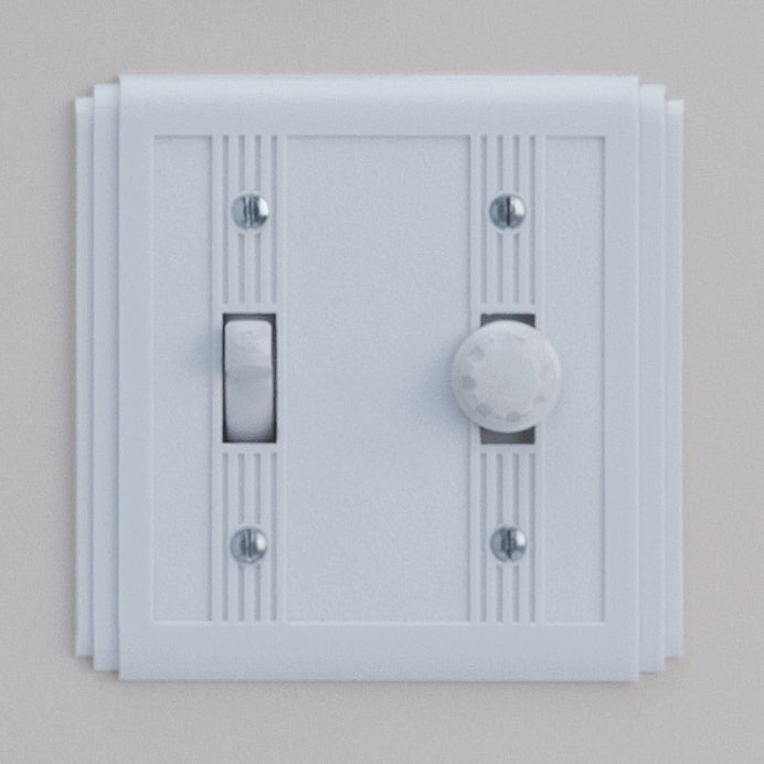 Classic 60 Series 1 Gang Switch With LED Dimmer