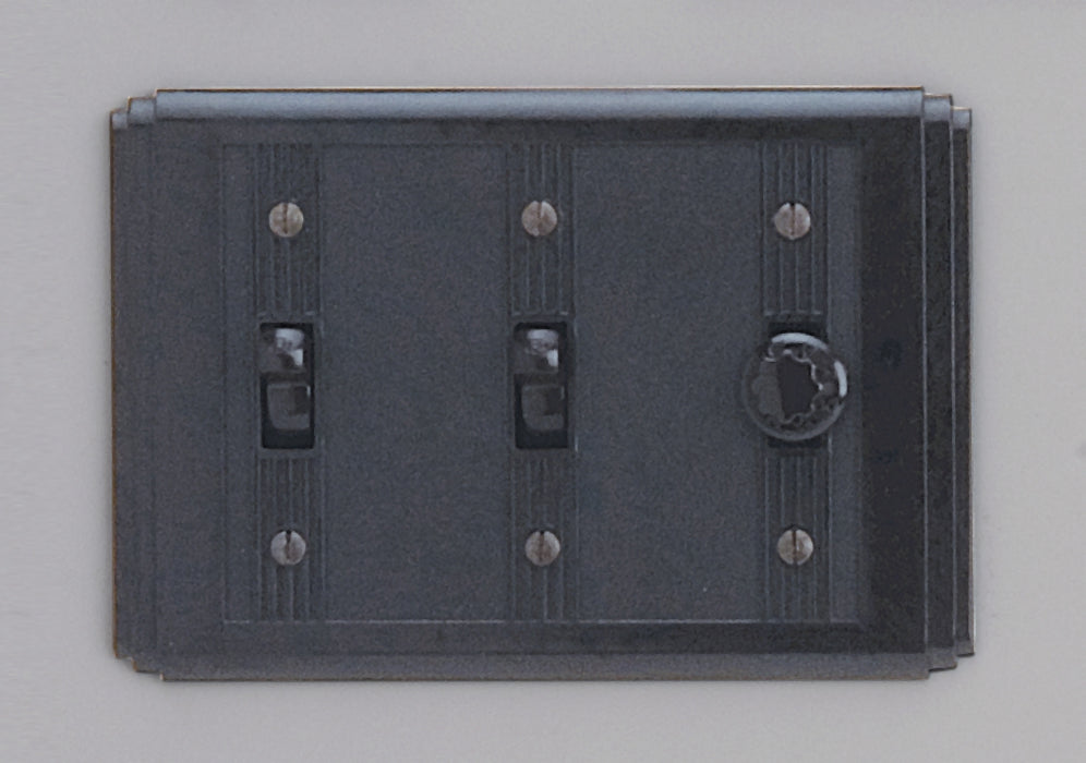 Classic 60 Series 2 Gang Switch With Universal Dimmer