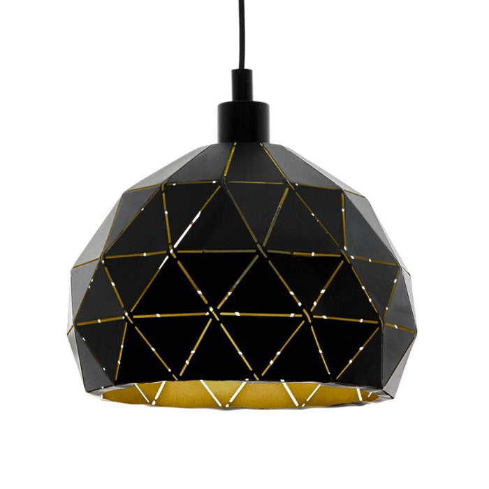 Roccaforte - Large Geometric Pendant