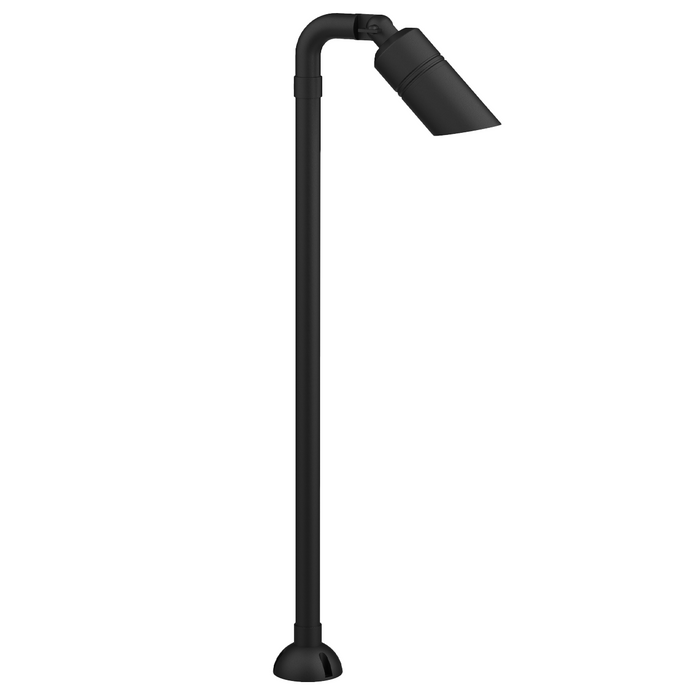 Hydra - Curved Head Tall Surface Mount Pathway Light