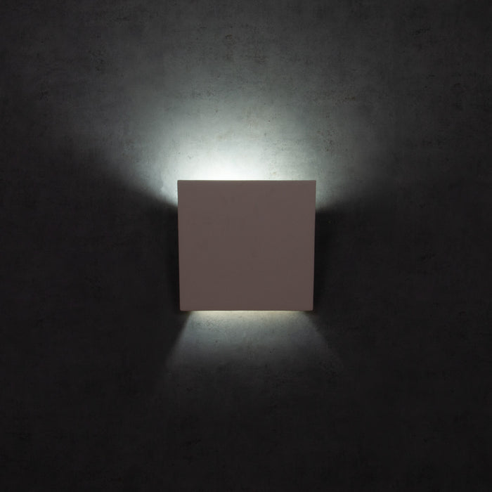 DOMUS - Ceramic Angled Square Wall Light