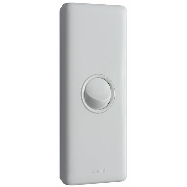 Legrand Excel Life 1 Gang Architrave Switch, White