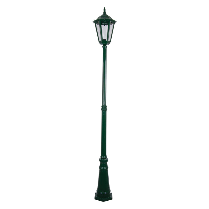 Domus Chester Large - Single Head Tall Traditional Post Top