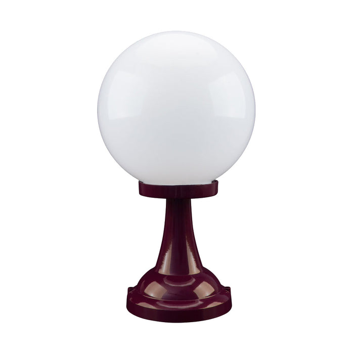 Domus Siena - 25cm Sphere Tall Traditional Pillar Mount