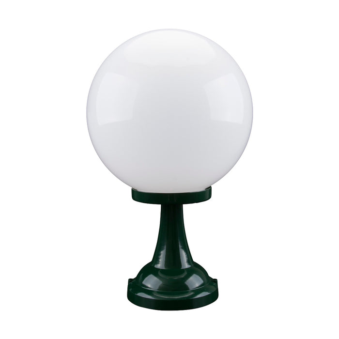 Domus Siena - 30cm Sphere Tall Traditional Pillar Mount
