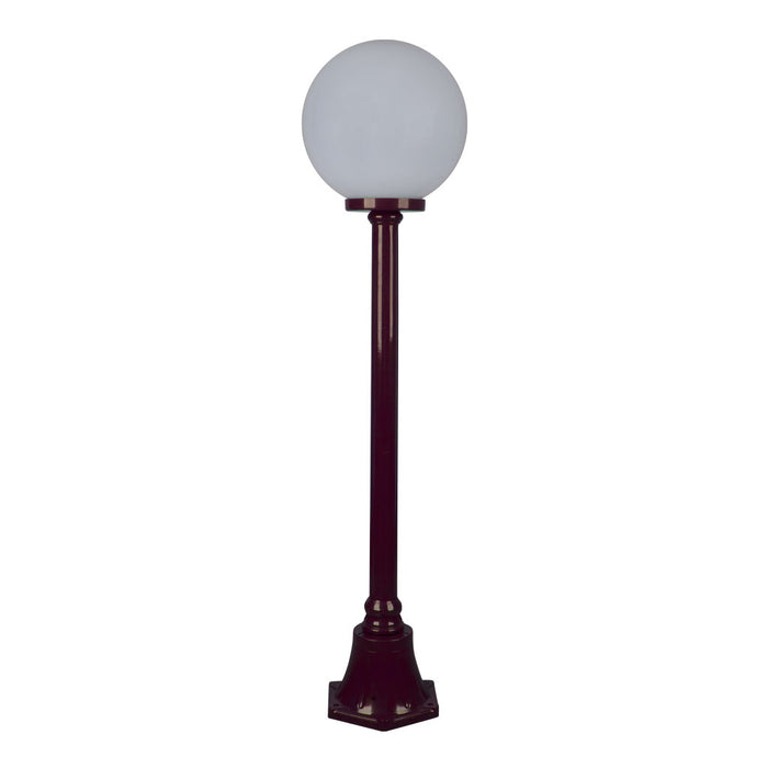 Domus Siena - 30cm Single Sphere Short Traditional Post