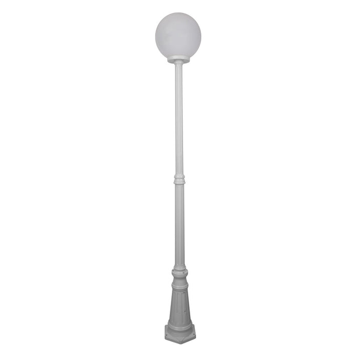 Domus Siena - 30cm Single Sphere Tall Traditional Post