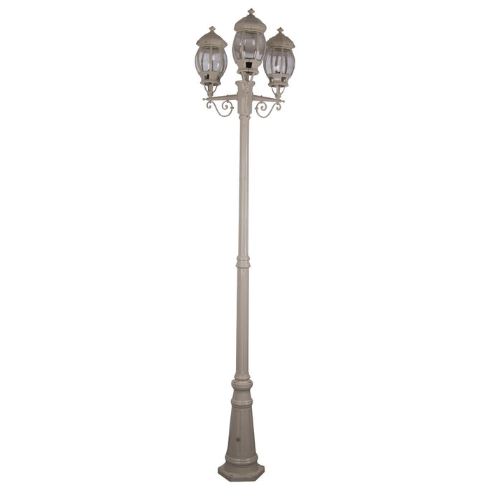 Domus Vienna - Triple Head Tall Traditional Post