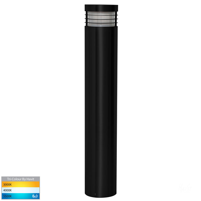 Havit Mini & Maxi - Stainless Steel Black Bollard Light