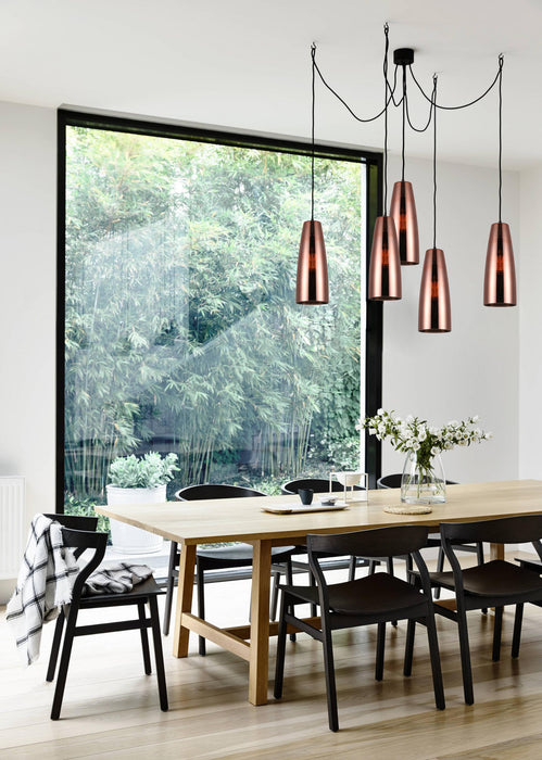 LAMINA - Flat Top Ellipse Pendant
