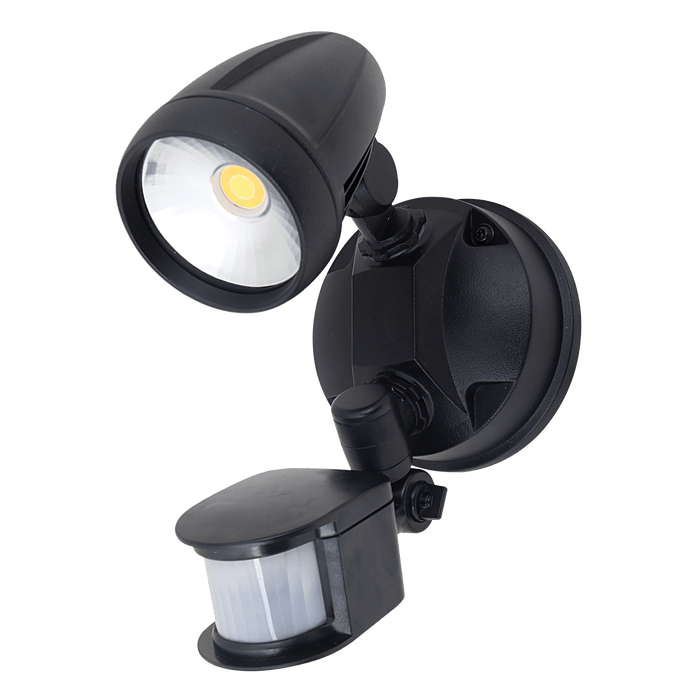 Domus MURO-PRO-15S 15W Single Spotlight With Sensor
