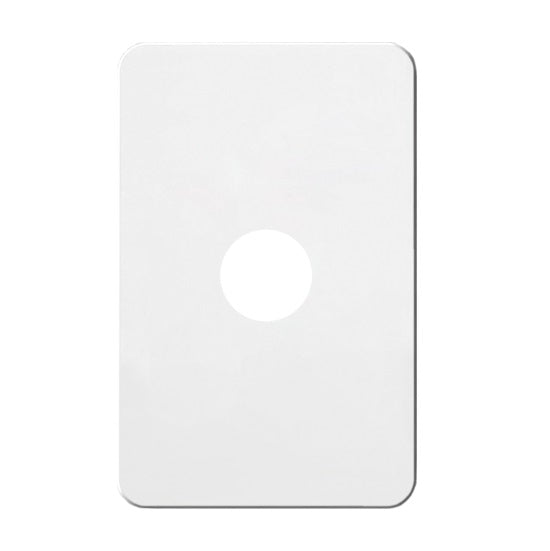 Hager Silhouette 1 Gang Switch Plate - Skin Only