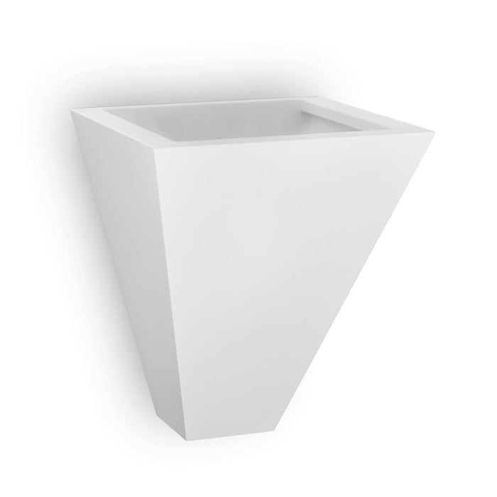 DOMUS - Ceramic Triangular Wall Light