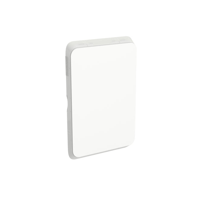 Clipsal Iconic Switch Blank Plate - Cover Only, Vivid White
