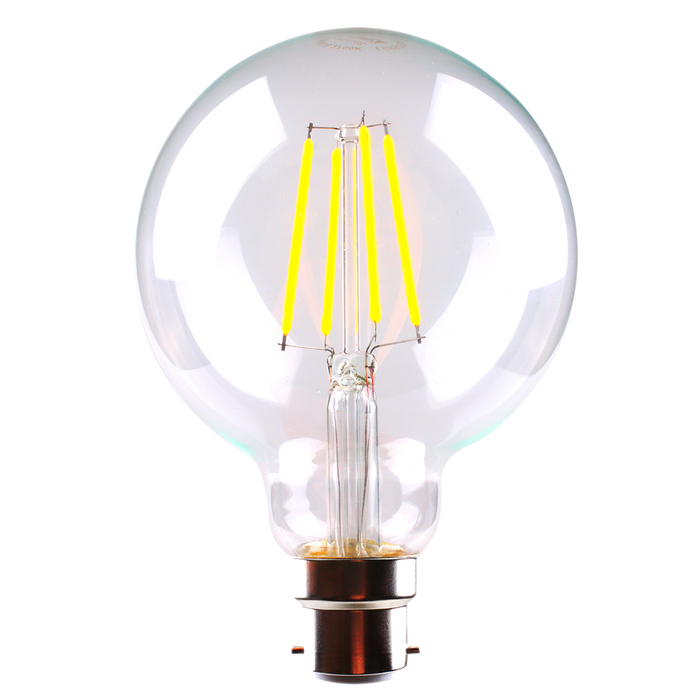 G95 6w Dimmable LED Filament Lamp
