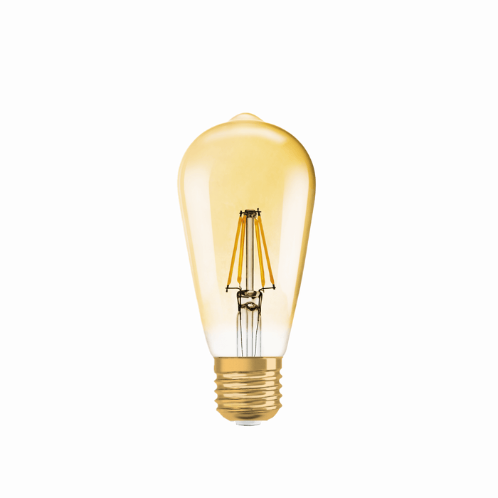 Osram Vintage 1906 ST64 E27 4w LED Filament Lamp