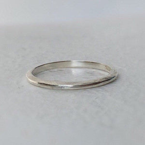 925 - 1.5mm - Tapered wedding ring