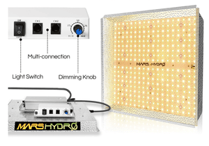 Mars Hydro TS 1000. LED Grow light with daisy chain function