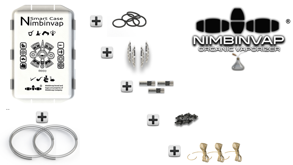 Pack of Spare Parts & Accessories NimbinVap