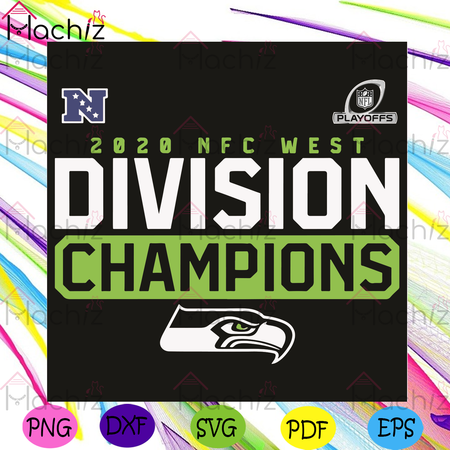 2020 NFC West Division Champions Svg, Sport Svg, Seattle Seahawks Svg, Seattle Seahawks Football Team Svg, Seattle Seahawks Lovers Svg, Seattle Seahawks Fans Svg, Seattle Seahawks Gifts Svg, NFC Svg, Football Svg,