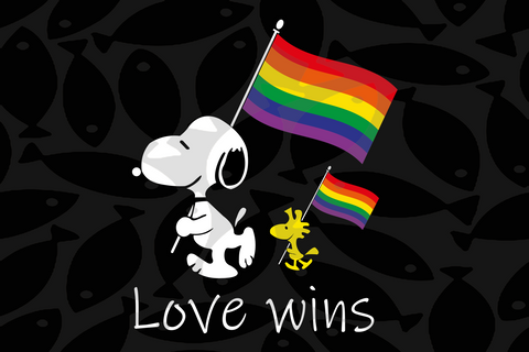 LGBT snoopy love wins, lgbt svg, rainbow svg,gay pride svg,girl gift, gift for girl,gay gift, gift for girl,lgbt gift, gaymer gift, bisexxual svg, gay lover,Files For Silhouette, Files For Cricut, SVG, DXF, EPS, PNG, Instant Download