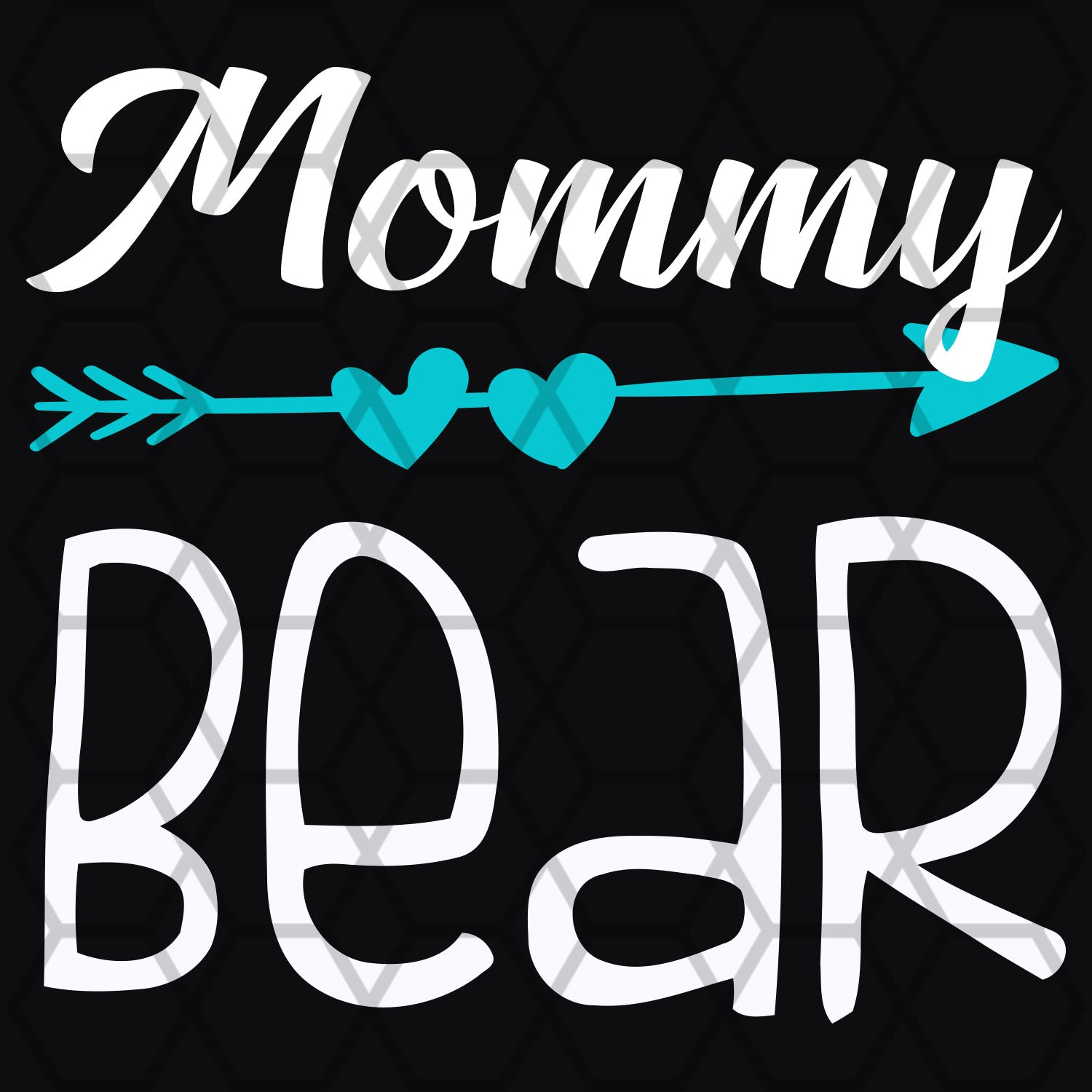 Mommy bear, mommy svg, mommy shirt, mommy gift svg,family svg, family shirt,family gift,trending svg, Files For Silhouette, Files For Cricut, SVG, DXF, EPS, PNG, Instant Download