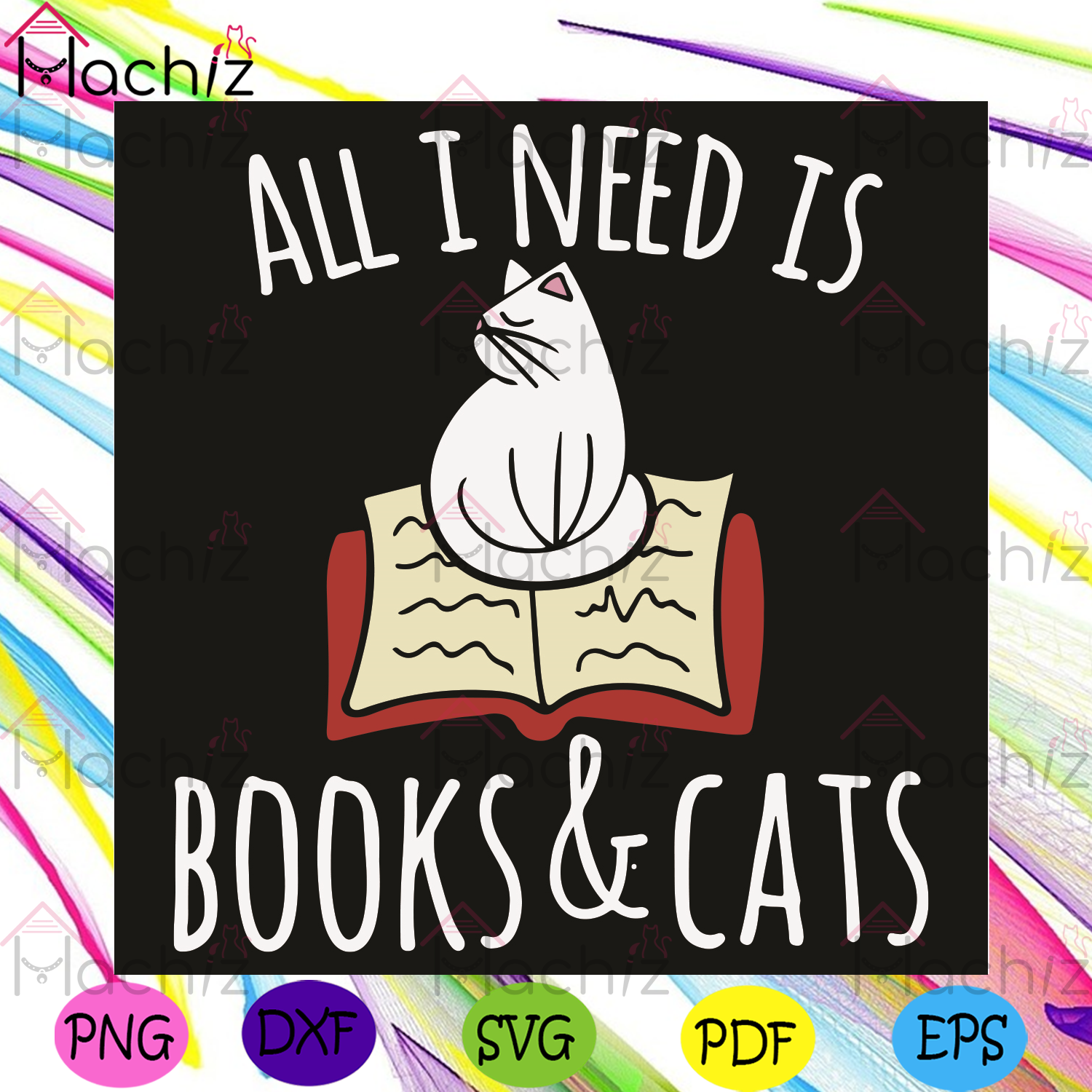 All I Need Is Book And Cat Svg, Trending Svg, Cat Svg, Book Svg, Cat Lovers Svg, Book Lovers Svg, Hobby Svg, Cat Gift Svg, Reading Book Svg, Reading Svg, Reading Lovers Svg, Reader Svg, Cat Mom Svg, Animal Svg
