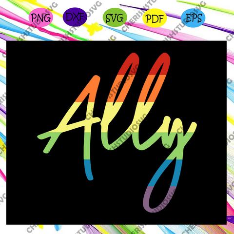Ally lgbt svg, rainbow svg,leseither way, lesbian gift,lgbt shirt, lgbt pride,gay pride svg, lesbian gifts,gift for bian love ,lgbt svg,Files For Silhouette, Files For Cricut, SVG, DXF, EPS, PNG, Instant Download