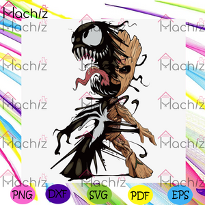 Baby Groot Venom, Halloween Svg, Baby Groot Venom Svg, Groot Svg, Marvel Svg, Marvel Comics Svg, Groot Edit Svg, Groot Lover, Groot From Marvel, Ravagers Svg, Ravager Groot Svg, Starlord Svg, Baby Groot Venom Gift