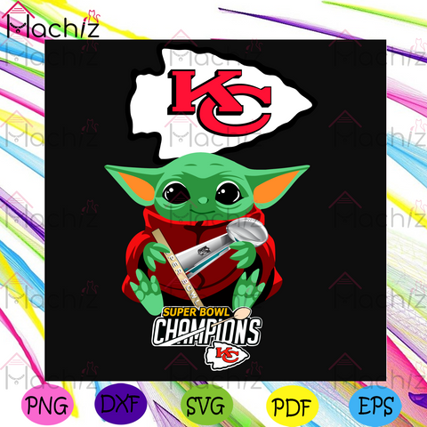 Baby Yoda Super Bowl Champions 2021 Kansas City Chiefs Svg, Sport Svg, Super Bowl 2021 Svg, Kansas City Chiefs Svg, Baby Yoda Svg, Kansas City Chiefs Logo Svg, Chiefs Svg, Chiefs Fans Svg, Yoda Chiefs Svg, Football Svg, NFL Svg