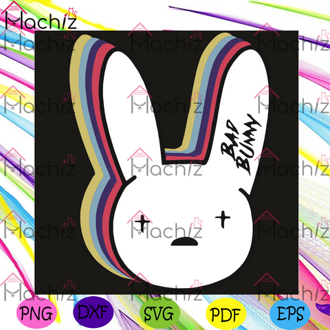 Bad Bunny svg, bad bunny store svg, bunny svg, bunny store svg, bad bunny store shirt, bad bunny store gift, bunny shirt, bunny gift, colorful bunny svg, bad bunny store Trump svg, Democrats svg, trendy svg, fashion svg,