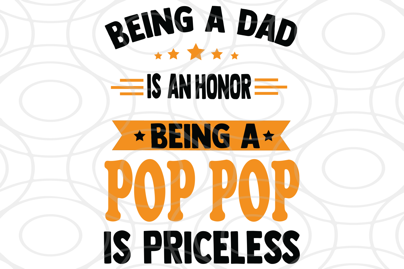 Being a dad is an honor being a pop pop is priceless, papa svg, baba svg,father's day svg, father svg, dad svg, daddy svg, poppop svg Files For Silhouette, Files For Cricut, SVG, DXF, EPS, PNG, Instant Download