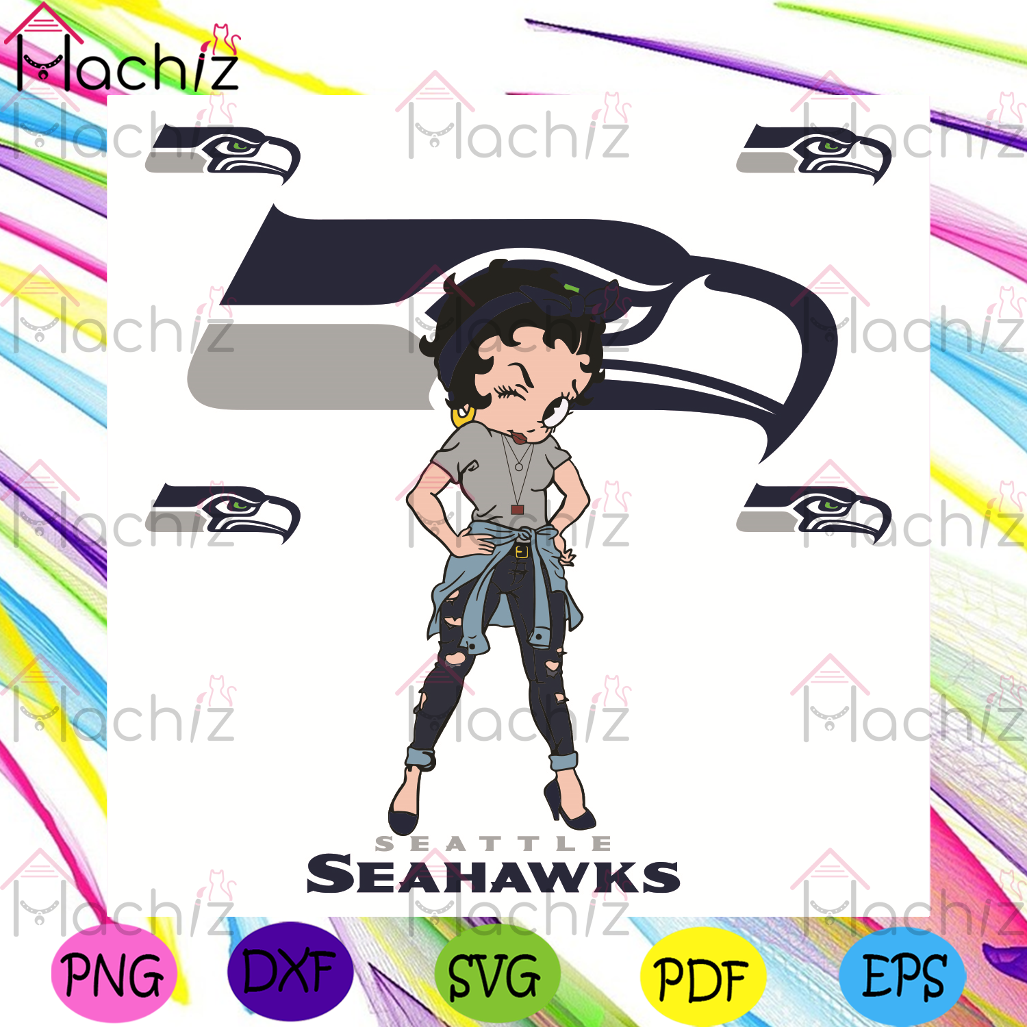 Betty Boop Seattle Seahawks Svg, Sport Svg, Seattle Seahawks Football Team Svg, Seattle Seahawks Svg, Seattle Seahawks Fans Svg, Betty Boop Svg, Seattle Seahawks Lovers Svg, Seattle Seahawks Gifts Svg, NFL Svg