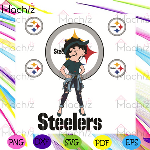 Betty Boop Steelers Svg, Sport Svg, Pittsburgh Steelers Football Team Svg, Pittsburgh Steelers Fans Svg, Betty Boop Svg, Pittsburgh Steelers Lovers Svg, Pittsburgh Steelers Gifts Svg, Steelers Betty Boop Svg, NFL Svg
