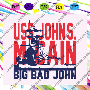 Big bad john, American Svg, 4th Of July Svg, Fourth Of July Svg, Patriotic American Svg, Independence Day Svg, Memorial Day, Files For Silhouette, Files For Cricut, SVG, DXF, EPS, PNG, Instant Download