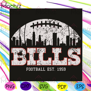 Bills Football EST 1959 Svg, Sport Svg, Buffalo Bills Football Team Svg, Buffalo Bills Logo Svg, Buffalo Bills Fans Svg, Buffalo Bills Lovers Svg, Buffalo Bills Gifts Svg, City Svg, Football Svg, Football Fans Svg, Football Gifts Svg