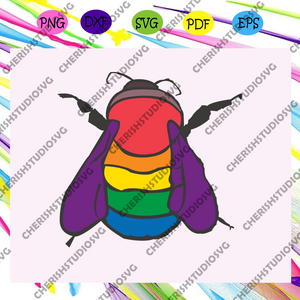 Bisexual Bee,rainbow svg,leseither way, lesbian gift,lgbt shirt, lgbt pride,gay pride svg, lesbian gifts,gift for bian love ,lgbt svg,Files For Silhouette, Files For Cricut, SVG, DXF, EPS, PNG, Instant Download