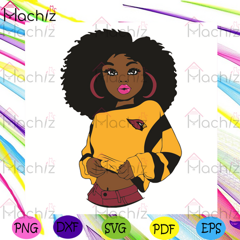 Black Girl Arizona Cardinals Svg, Sport Svg, Arizona Cardinals Football Team Svg, Arizona Cardinals Svg, Black Girl Svg, Arizona Cardinals Svg, Arizona Cardinals Fans Svg, Arizona Cardinals Gifts Svg, Arizona Cardinals Logo Svg