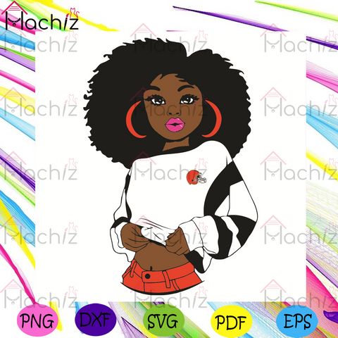 Black Girl Cleveland Browns Svg, Sport Svg, Cleveland Browns Football Team Svg, Cleveland Browns Svg, Black Girl Svg, Cleveland Browns Fans Svg, Cleveland Browns Gifts Svg, Cleveland Browns Logo Svg, Black Girl Gifts Svg